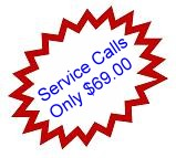 service call only $69.00